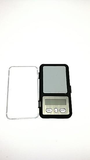Mini bascula digital precision balanza pesa micras 0, 01g a 200g joyeria OF 2523: Amazon.es