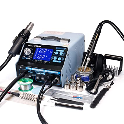 <b>YIHUA 992DA+</b> 4 in 1 HOT AIR REWORK Station Soldering Iron ...