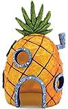Govine® アクアリウム オーナメント オブジェ パイナップル ハウス SpongeBob 隠れ家 置物 スポンジボブ 樹脂製
