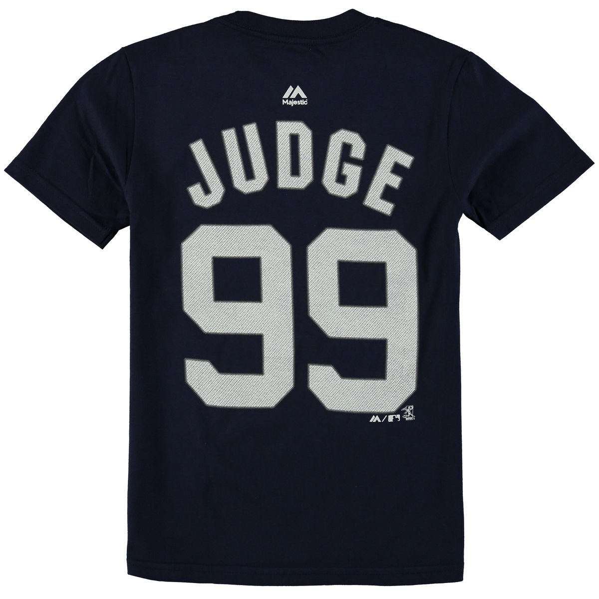 new products 46f27 af8bf Majestic Aaron Judge New York Yankees #99 MLB Youth Player T-shirt