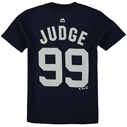 Majestic Aaron Judge New York Yankees  99 MLB Youth Player T-shirt (Youth b08939a6ce3