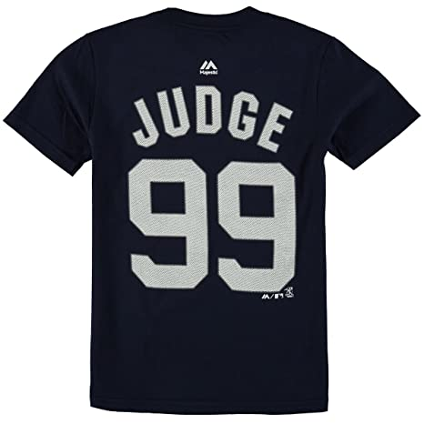 cd210d93b Majestic Aaron Judge New York Yankees  99 MLB Youth Player T-Shirt (Youth