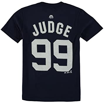 new products 48aea 944c9 Majestic Aaron Judge New York Yankees #99 MLB Youth Player T-shirt
