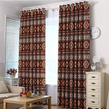 Vividx Sliding Door Curtains Afghan Blackout Window Curtain 2 Panel W84x108l Multicolor Amazon Co Uk Kitchen Home