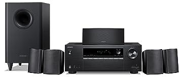 onkyo surround sound speakers. onkyo 5.1 6-channel surround sound speaker system, black (ht-s3900) speakers i