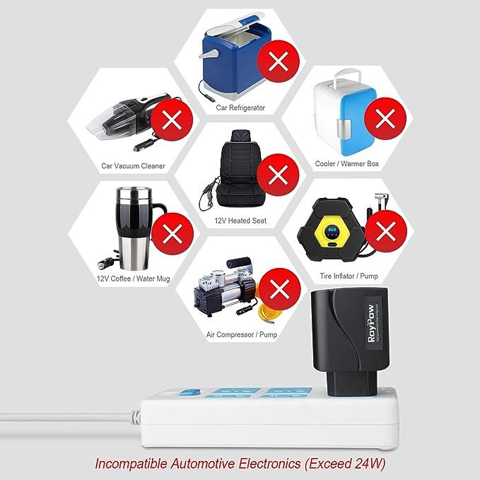 Roypow Kfz Auto Power Supply Konverter Transformer 24w Elektronik