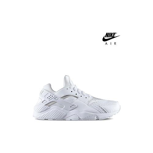 Nike Mens Air Huarache 318429 111 Zapatillas de deporte para hombre, color blanco, color blanco, talla 42 EU: Amazon.es: Zapatos y complementos