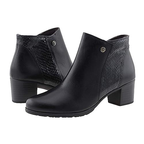 Botines Piel Pitillos Talla: 39 Color: Negro: Amazon.es: Zapatos y complementos