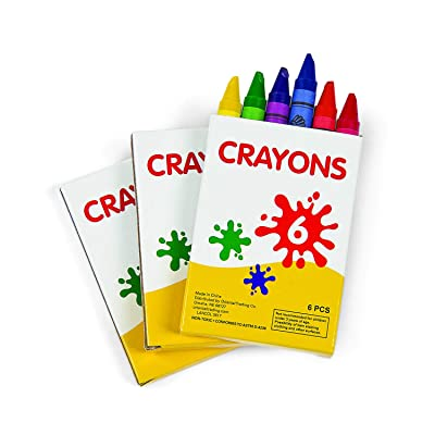 Fun Express Crayons (48 boxes of 6 colors) Bulk School and Arts Supplies: Office Products