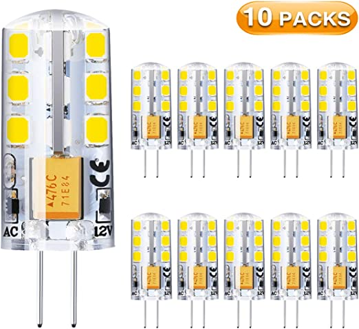 G4 Led Light Bulbs Elfeland G4 Bi Pin Base Bulbs 2w None Dimmable