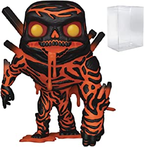 Marvel Funko Pop Spider-Man Far from Home - Molten Man Funko Pop! Vinyl Figure (Includes Compatible Pop Box Protector Case)