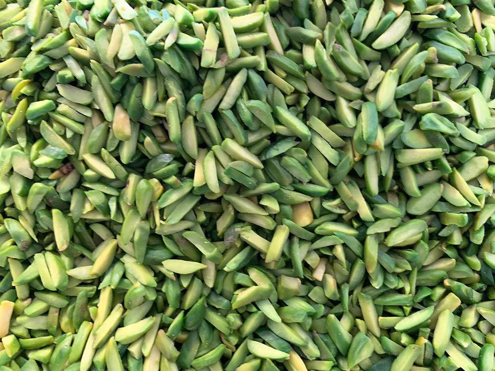 MonElla Pistachio Slices, slivered Pistachio, Healthy Protien Food, All Natural, Keto Friendly, Vegan, 8 Oz - 0.5 LB (Pack of 1)