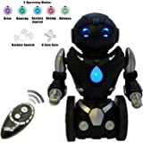 Remote Control Balance Robot Toy for Kids (Version 2!!) - TG634 Smart Interactive RC Robot By ThinkGizmos (Trademark Protected) (Black & Silver)