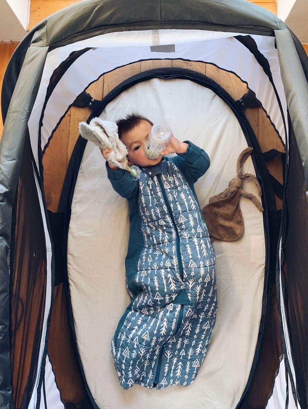 color azul Deryan Parc Bambin Parque y cama de viaje para beb/é