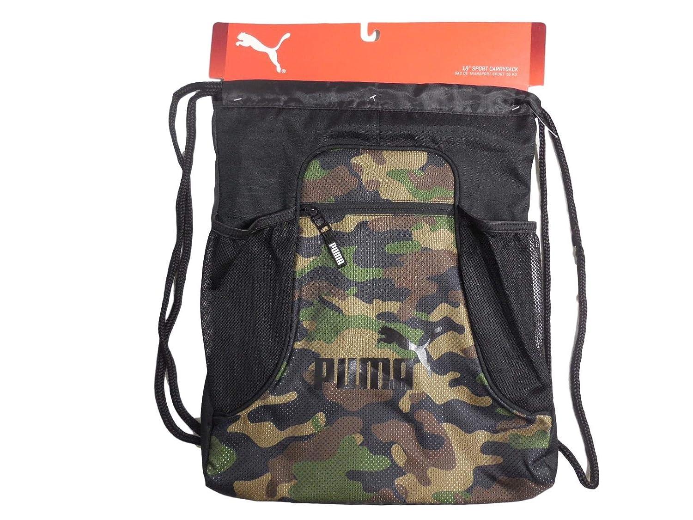 641a3cd227611 Amazon.com | PUMA EVERCAT EQUINOX Carrysack Drawstring Gym Bag ...