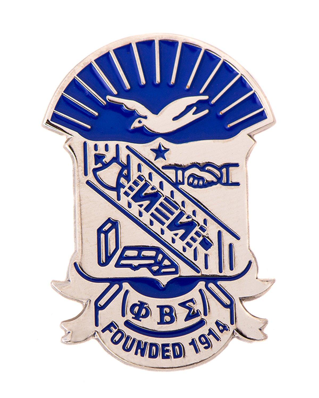 Desert Cactus Phi Beta Sigma Fraternity Silver Crest Cufflinks Greek Formal Wear Blazer Jacket