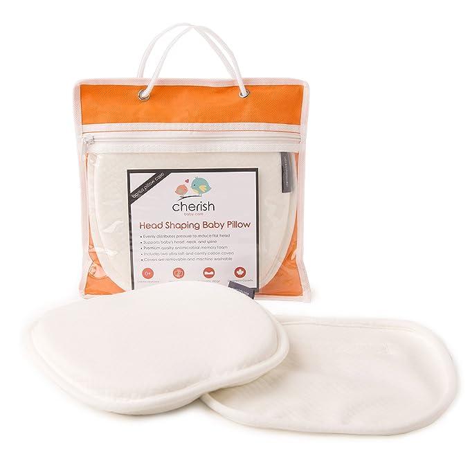 Almohadas de bebé para cabeza plana | Esenciales para recién ...