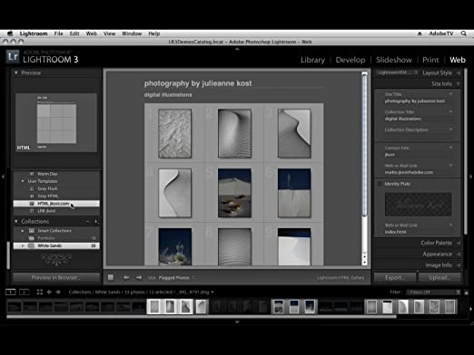 Adobe Photoshop Lightroom 3 (Mac/PC)