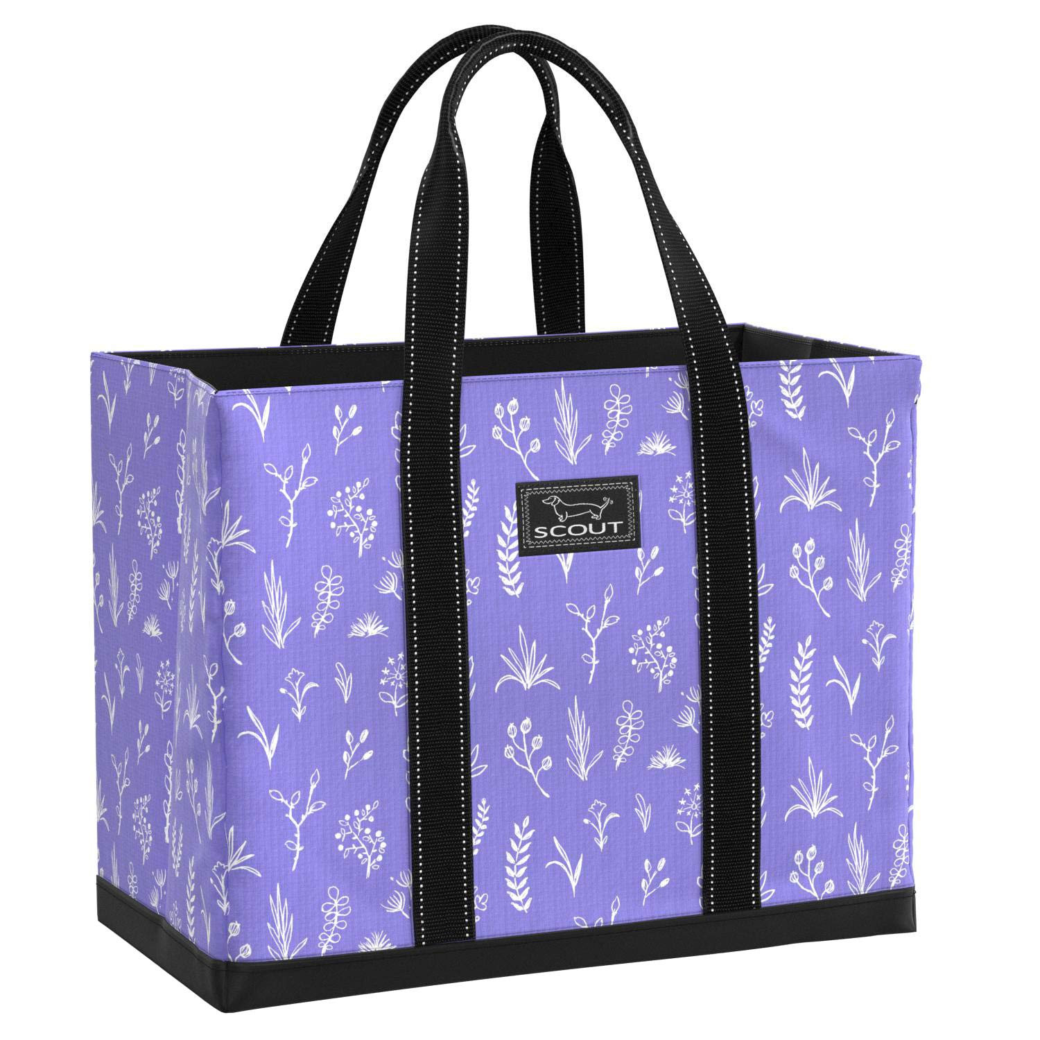 Wisteria Lane SCOUT Original DEANO Tote Bag, Water Resistant Large Tote Bag for Women (Multiple Patterns Available) (Rock The Boat)