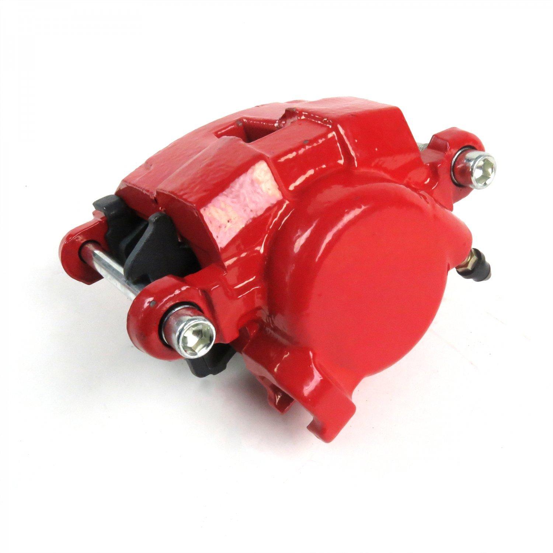 Helix 334035 Red GM Single Piston Calipers w//Ceramic Pads Pair G Body 78-88