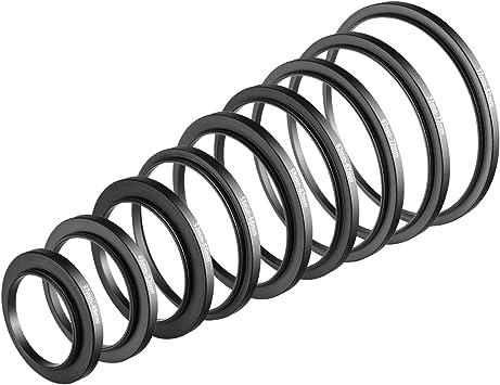 55mm A 77mm Stepping intensificar filtro anillo adaptador 55mm-77mm