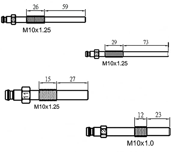 Amazon.com: BGS Technic PRO+ Kit de pruebas de compresión ...