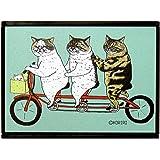 猫世界 折りたたみミラー 自転車