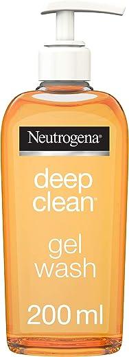 Neutrogena Face Wash, Deep Clean, Gel, 200ml
