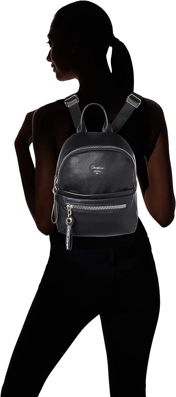 David Jones Cm5069, Bolsos mochila Mujer, Negro (Black