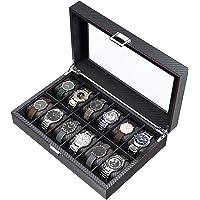 CRITIRON 12 Slot Caja para Relojes de Fibra