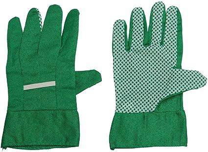 3 Paar Gartenhandschuhe mit Noppen Arbeitshandschuhe Garten Schutzhandschuhe