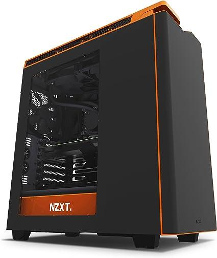 NZXT (CA-H442W-M0 H440 - Caja de ordenador formato ATX con ventana ...