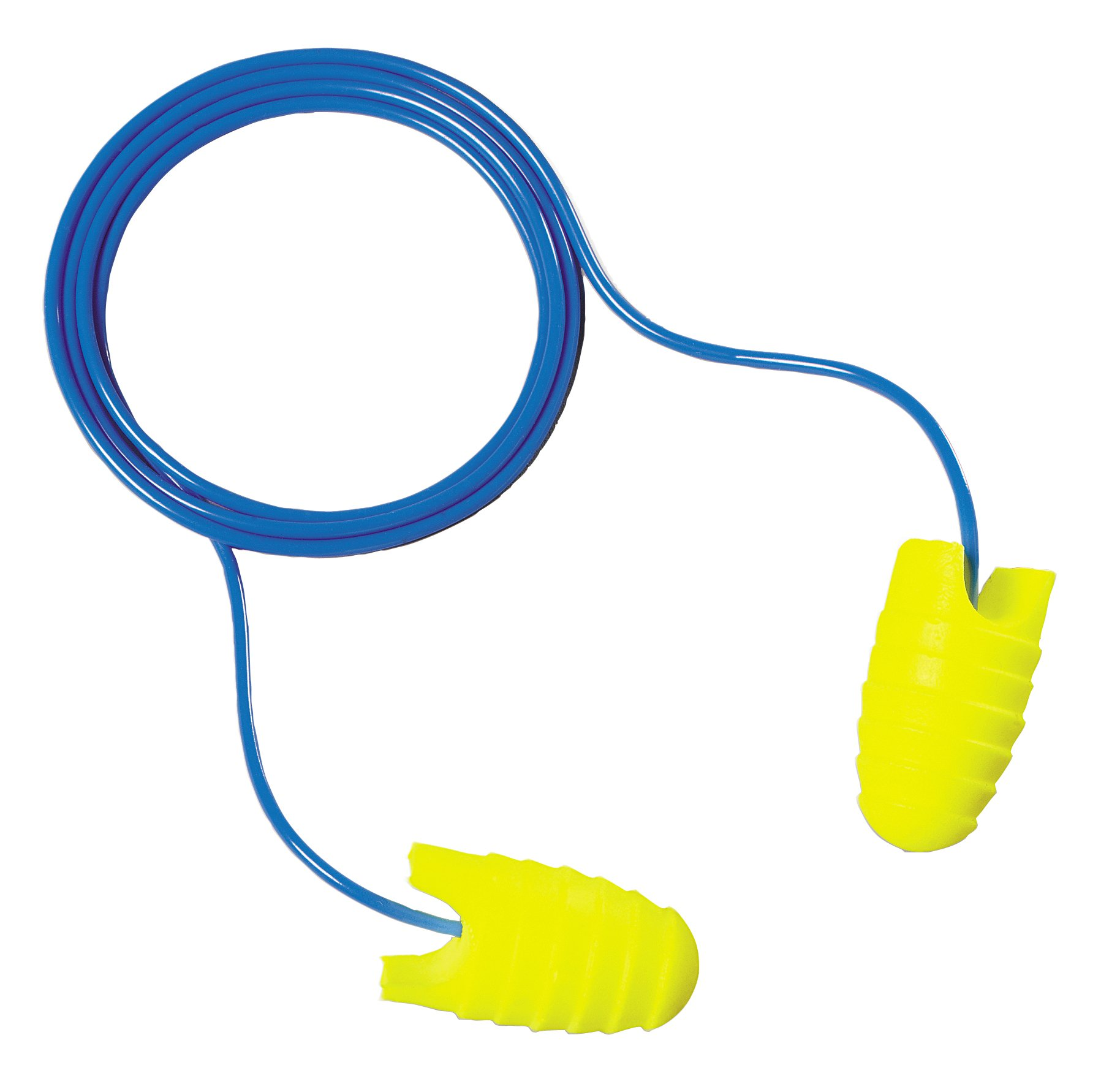 3M E-A-Rsoft Grippers Corded Earplugs, Hearing Conservation 312-6001