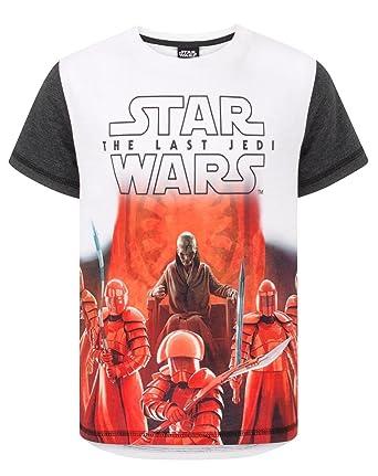ad2418675d62 Amazon.com  Noisy Sauce Star Wars The Last Jedi First Order Boy s T ...