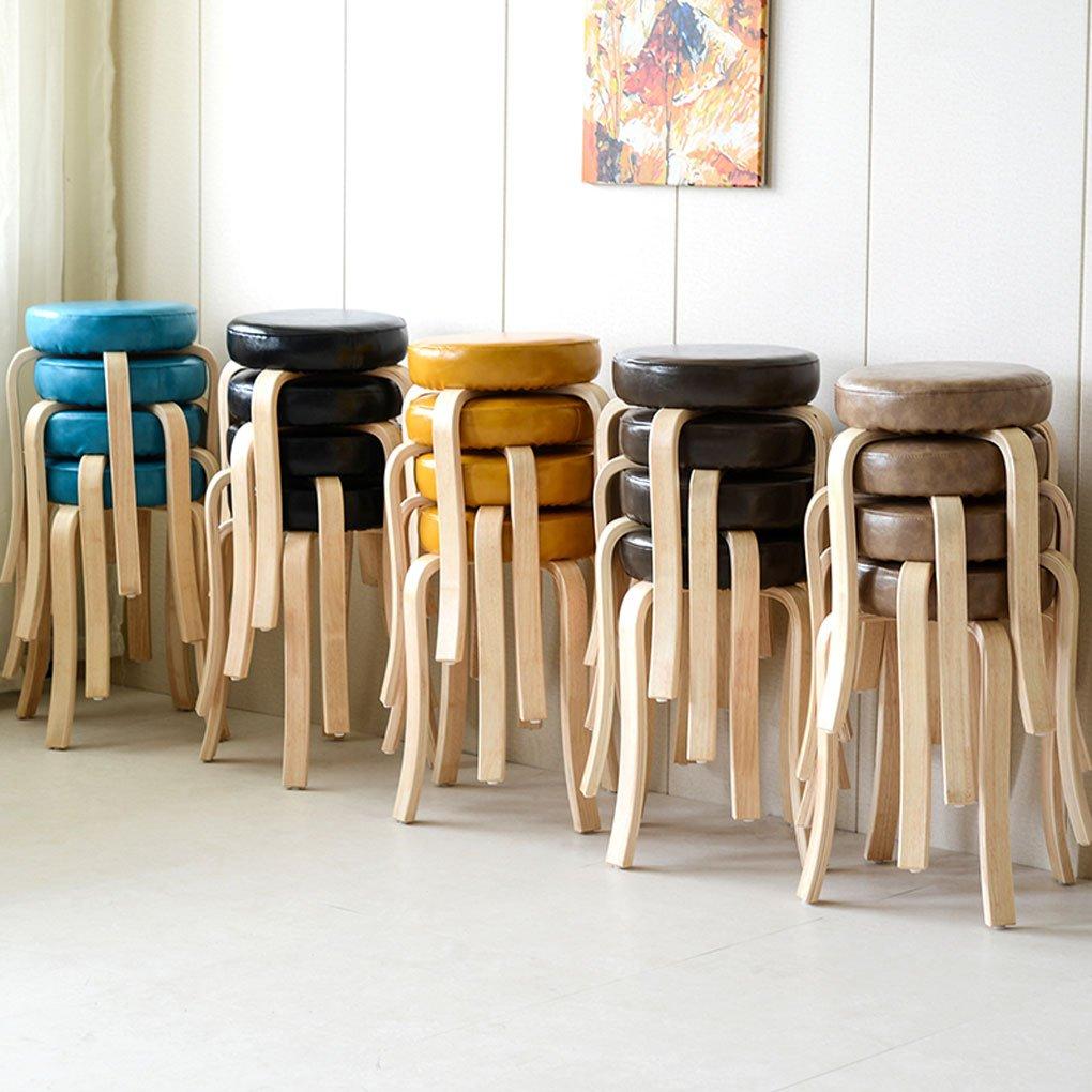 HJHY® Creative de Household High taburete Multifunción Silla de ...