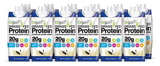 Orgain Grass Fed Protein Shake...
