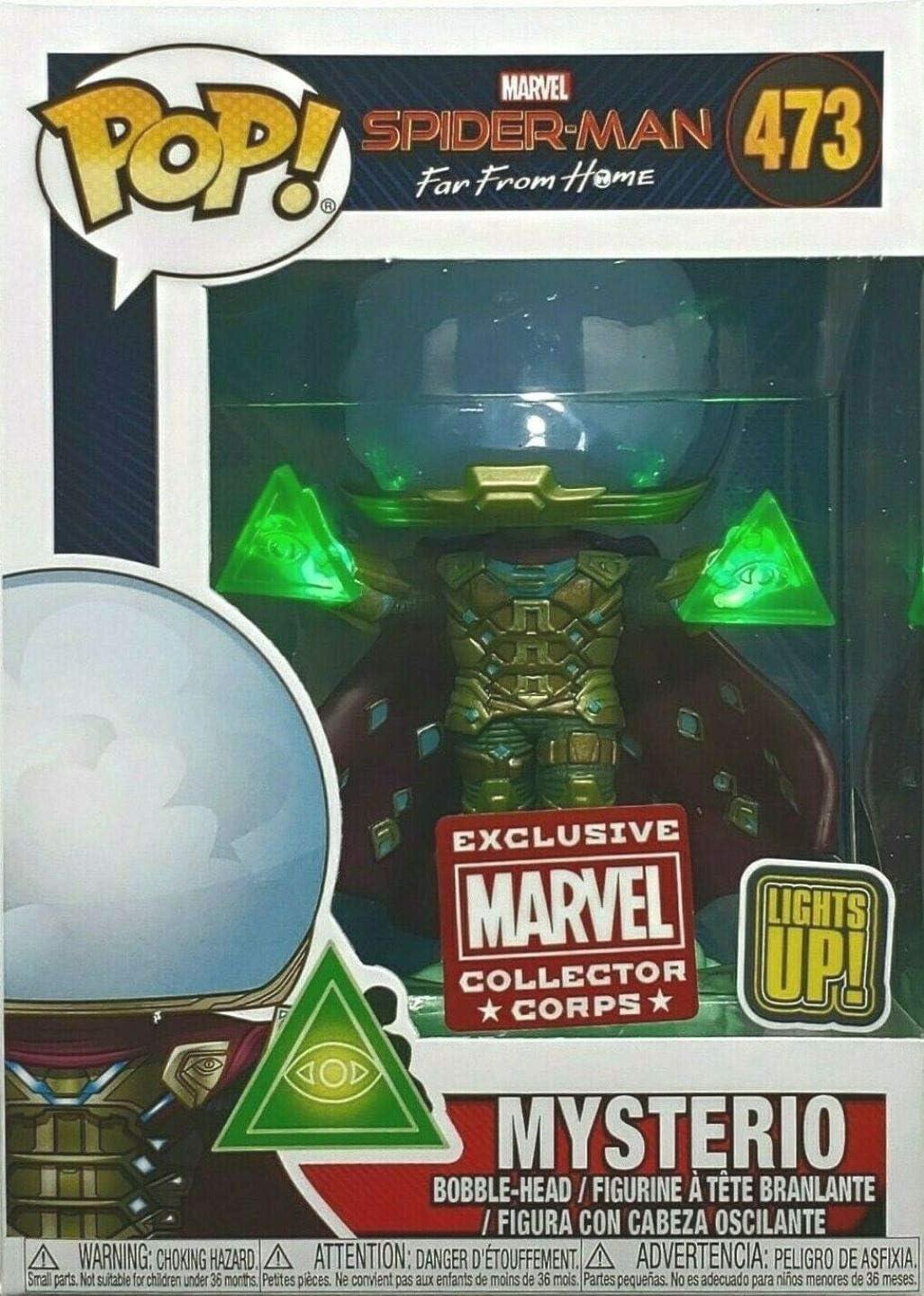 Funko POP Mysterio #473 Lights Up! Marvel Collectors Crops