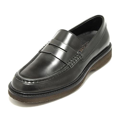 3835Q mocassino uomo HOGAN ROUTE blu scarpa shoe men [9] dOTPBRu