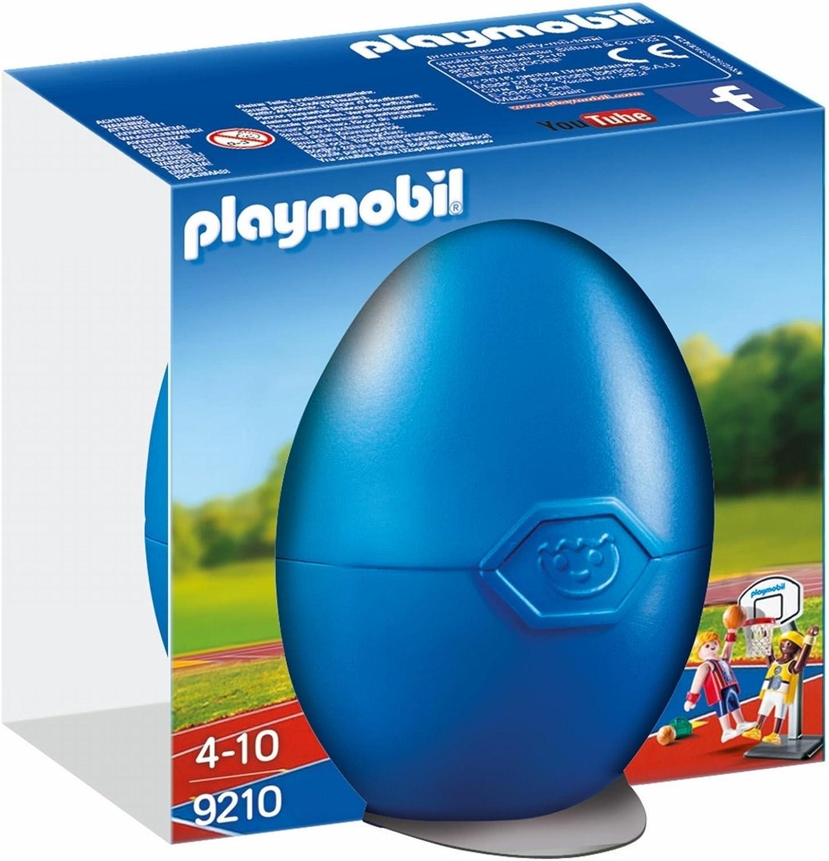 PLAYMOBIL Huevos-9210 Jugadores Baloncesto, Multicolor (9210 ...