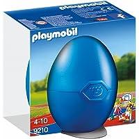 Playmobil- Joueurs de Basket-Ball avec Panier, 9210
