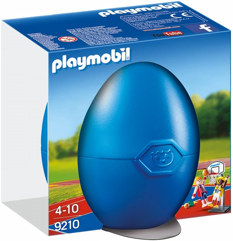PLAYMOBIL Huevos-9210 Jugadores Baloncesto, Multicolor (9210)