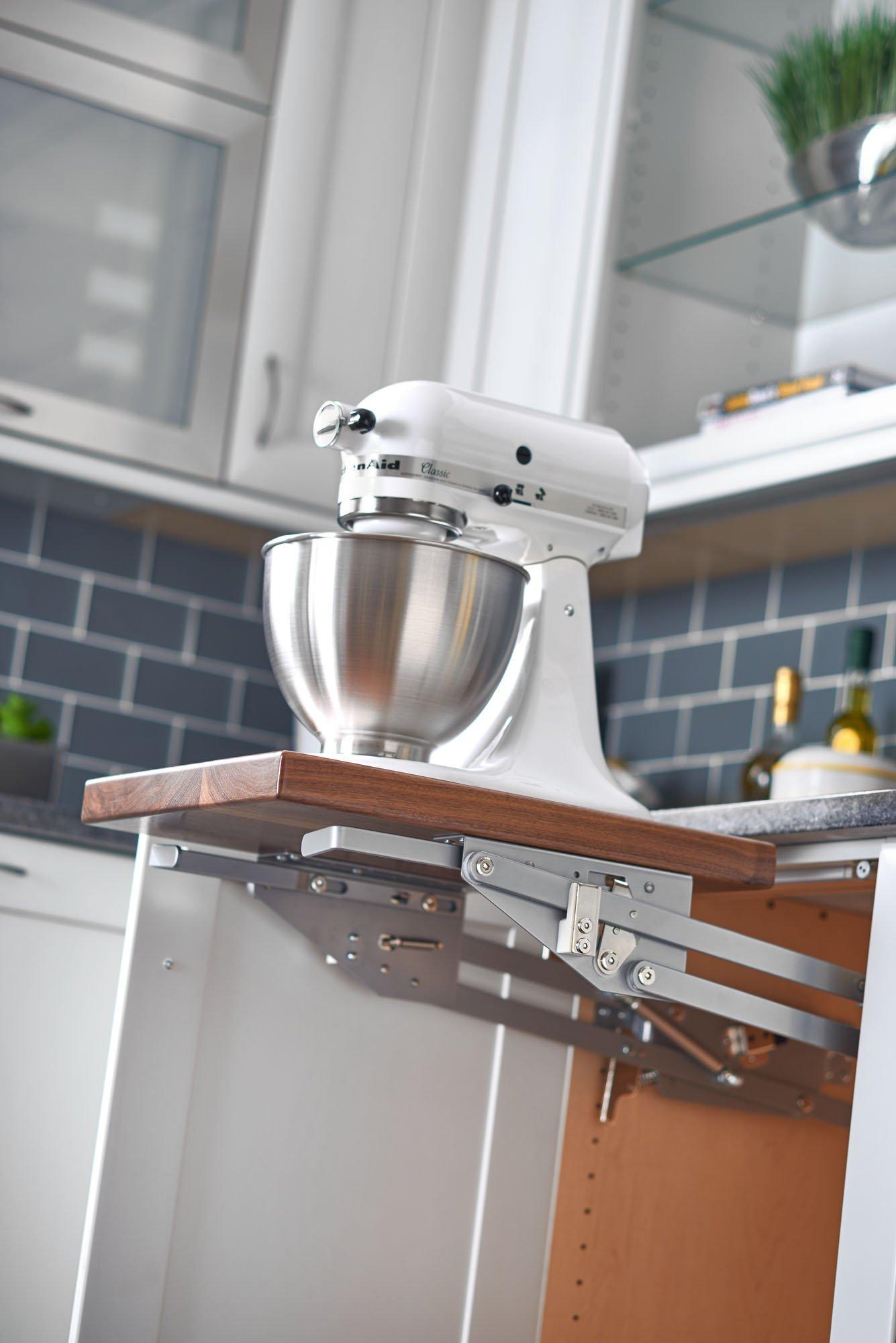 Rev-A-Shelf RAS-ML-HDSC Appliance Lift with Soft-Close Mechanism, Chrome by Rev-A-Shelf (Image #2)