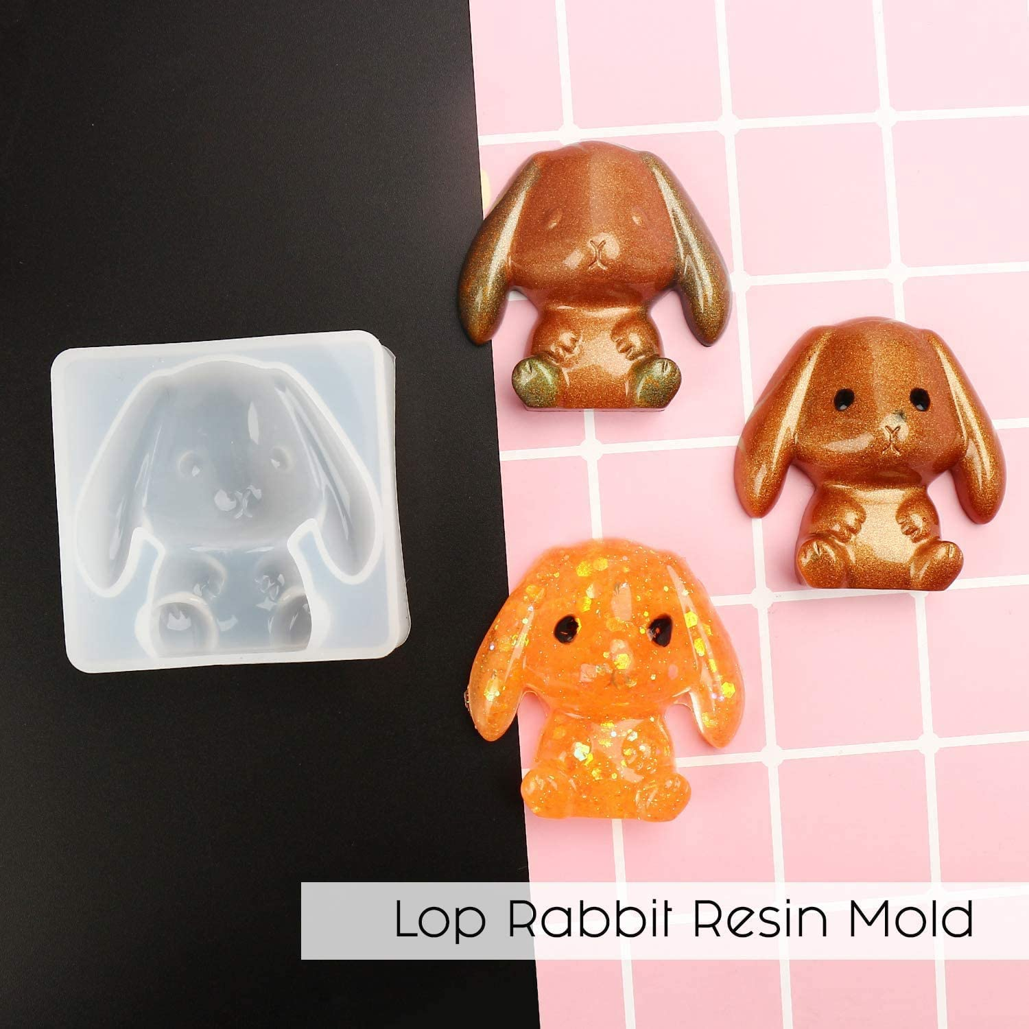 Lop Rabbit Epoxy Resin Silicone Molds for Resin Crafts DIY Xmas Bears Festival Decoration TEUN 7PCS Animal Resin Molds Includes Exclusive Authorised Sphynx Cat