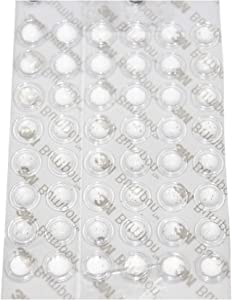 3M SJ5302 Clear Bumpon Blister Pack (96 Bumpons)