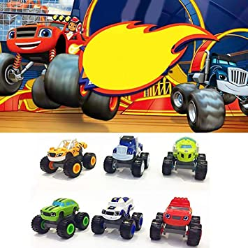 Mallalah 6 Pack de Juguetes para niños y Monster Machines Super ...