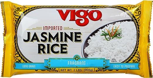 Vigo Jasmine Rice, 2 lb (1 paquete): Amazon.com: Grocery ...