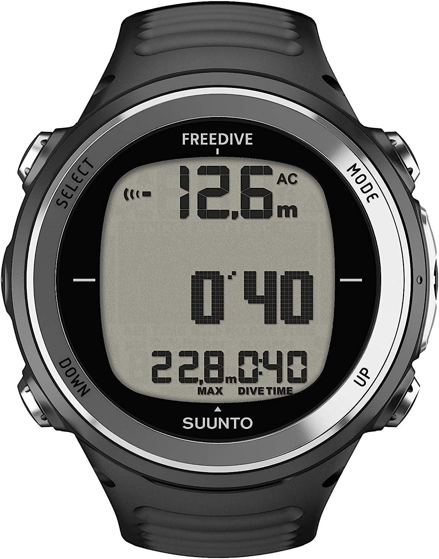 Suunto D4f - Reloj Unisex (Talla única), Color Negro