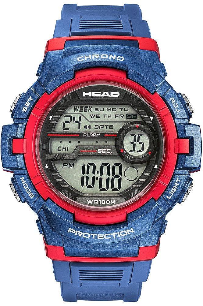 Head Reloj Digital para Hombre de Cuarzo con Correa en Resina HE-112-03