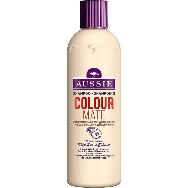 Aussie Colour Mate Shampoing Pour Cheveux Colores 300 Ml Amazon