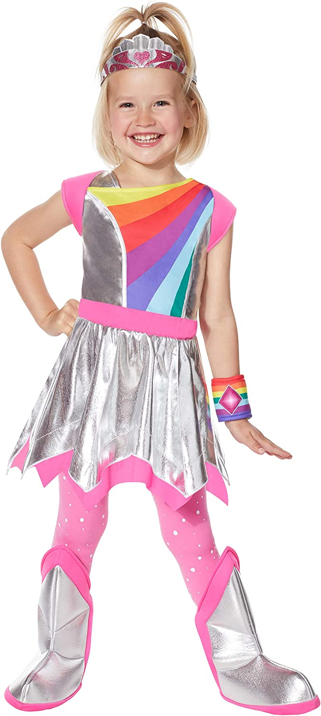 Lavender Girls Rainbow Ranger Nick Jr Cartoon Halloween Costume